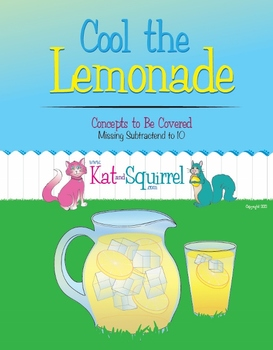 Cool the Lemonade - Missing Subtrahend to 10