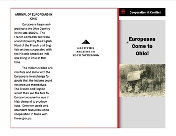 Cooperation and Conflict Between Europeans and Ohio Americ