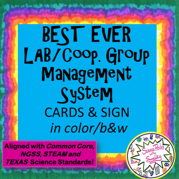 Cooperative Group Job Cards