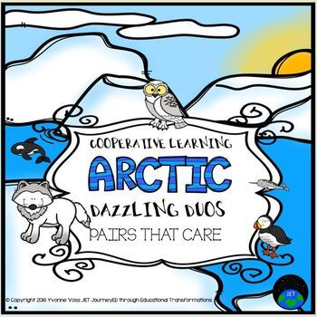 Cooperative Learning Dazzling Duos Pairs that Care Arctic Themed