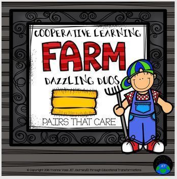 Cooperative Learning Dazzling Duos Pairs that Care Farm Themed