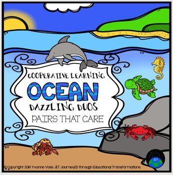 Cooperative Learning Dazzling Duos Pairs that Care Ocean Themed