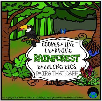 Cooperative Learning Dazzling Duos Pairs that Care Rainfor