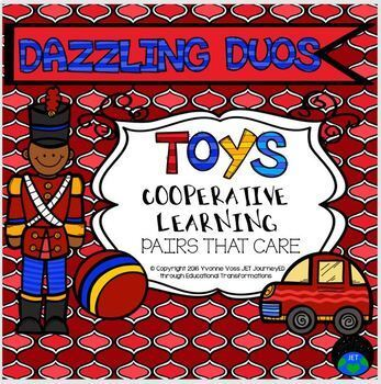 Cooperative Learning Dazzling Duos Pairs that Care Toy Themed