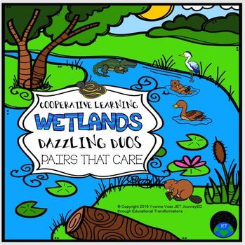Cooperative Learning Dazzling Duos Pairs that Care Wetland