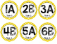 Cooperative Learning Desk Circle Tags for the Classroom