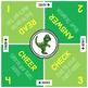 Cooperative Learning Mat: Dinosaur Theme
