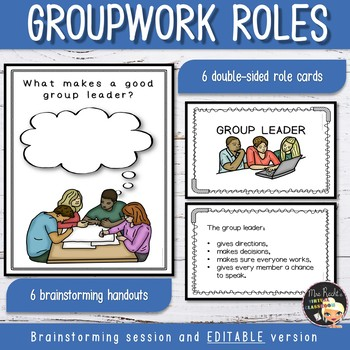 Cooperative Learning - Role Cards & Brainstorming