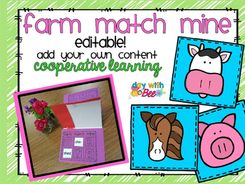 Cooperative Learning Structure Farm Themed Match Mine with