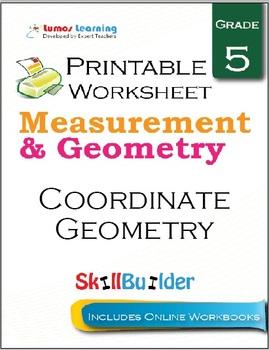 Coordinate Geometry Printable Worksheet, Grade 5