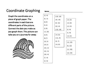 Coordinate Graph - Sailboat