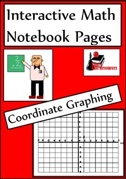Coordinate Graphing Lesson for Interactive Math Notebooks