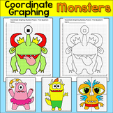 Coordinate Graphing Monsters: Great for Early Finishers or