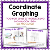 Coordinate Graphing Posters and Interactive Notebook INB Set