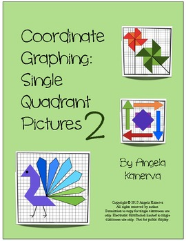 Coordinate Graphing Single Quadrant Pictures Part 2