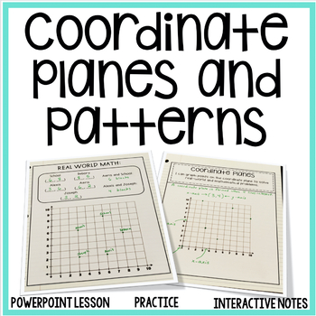 Coordinate Graphing and Numerical Patterns Unit {5th Grade