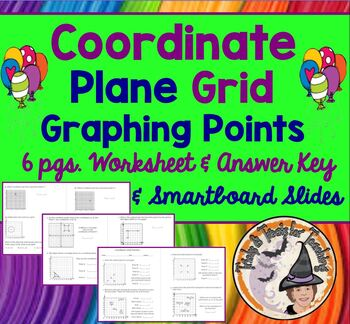 Coordinate Grid Graphing Plane Assorted Problems Practice