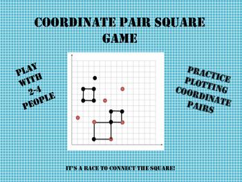 Coordinate Pair Square Game