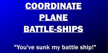Coordinate Plane Battle-Ships Game