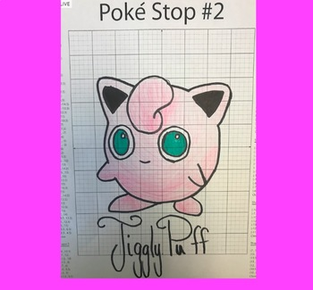 Coordinate Plane Pictures (Jigglypuff)