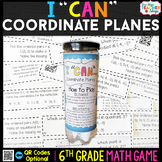 6th Grade Coordinate Planes Game - 6th Grade Math Game
