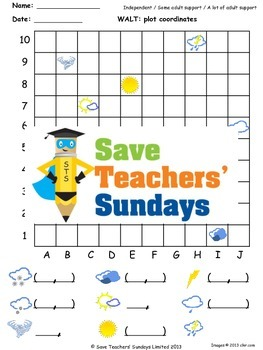 Coordinates lesson plans, worksheets and more
