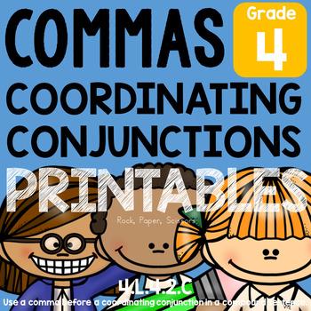 Coordinating Conjunctions & Commas L.4.2.C