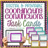 Coordinating Conjunctions Task Cards