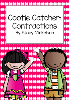 Cootie Catcher - Contractions