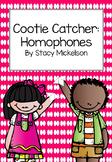 Cootie Catcher - Homophones ~Updated & Expanded!~