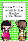 Cootie Catcher - Multiplication Set