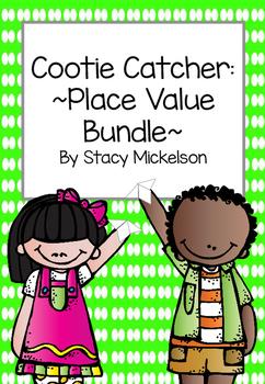 Cootie Catcher - Place Value Bundle ~New!~