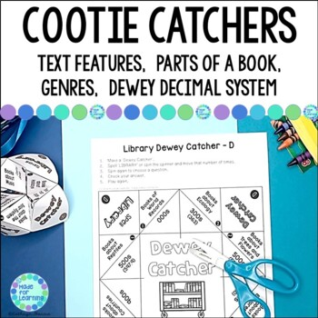 Cootie Catchers and Fortune Tellers for School Library Centers