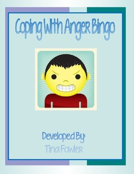 Coping With Anger Bingo