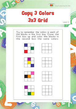 Copy 3 Colors 3x3 Grid