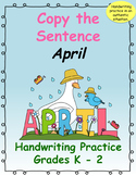Copy the Sentence April $1 Deal