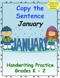 Copy the Sentence January $1 Deal