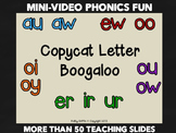 Diphthongs R Controlled Vowels Video