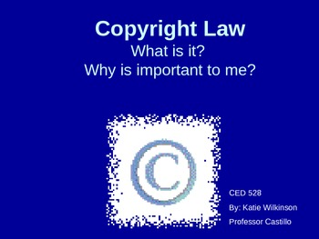 Copyright Law Presentation