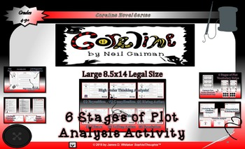 Coraline by Neil Gaiman 6 Stages of Plot Analysis Activity