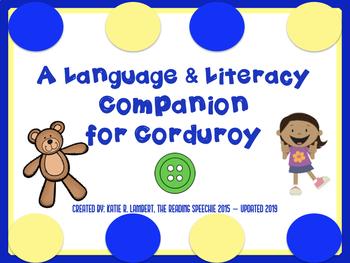 Corduroy Language and Literacy Companion