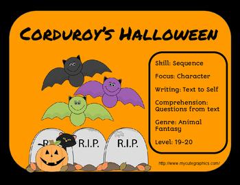 Corduroy's Halloween-Literature Group