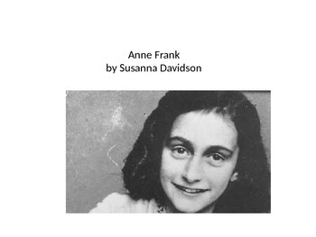 "Core Curriculum literature ""Anne Frank"""