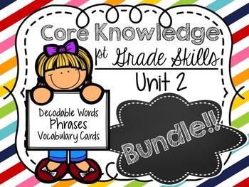 Core Knowledge Skills Unit 2 Bundle