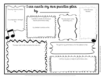 Core Music Standards:  Performance Practice Plan & Rehears