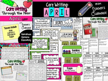 Core Writing Through the Year: April
