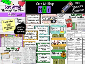 Core Writing Through the Year: May