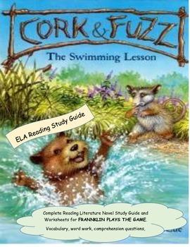 Cork & Fuzz Swimming Lesson Reading Literature Study Guide