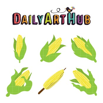 Corn Lover Clip Art - Great for Art Class Projects!