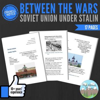 Cornell Notes (Soviet Union Under Stalin) Between the Wars